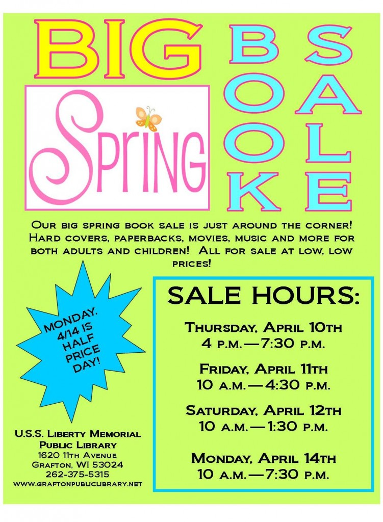 big spring book sale 2014 2