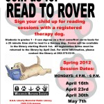 Read to Rover 2012