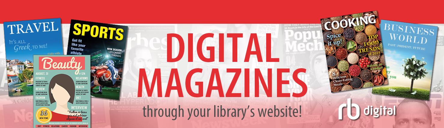 Zinio – Digital Magazines | Grafton Public Library
