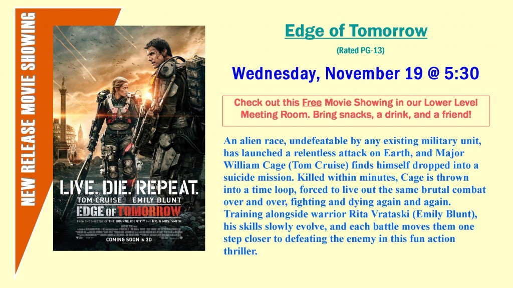 EDisplay New Release Movie Flyer
