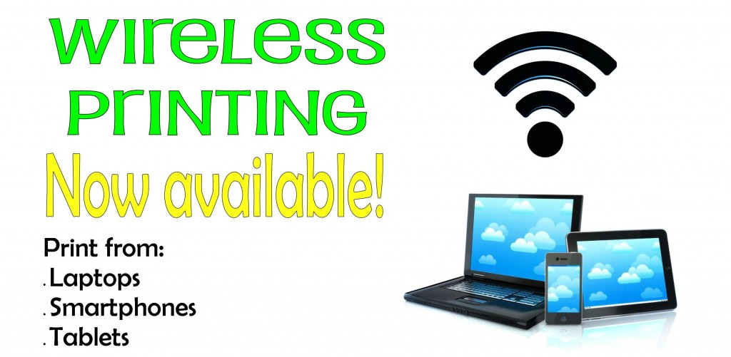 Wireless Printing Website